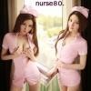 รหัส nurse80 ชุดพยาบาลสาวสุดเซ็กซี่