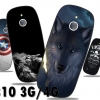 (713-001)เคสมือถือ Nokia 3310 (2017) 3G 4G เคสนิ่มลายกราฟฟิคสวยๆ
