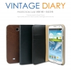Pleomax : Vintage Diary Case Cover For Samsung Galaxy S4, S IV, i9500