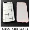 (025-1106)เคสมือถือไอโฟน Case iPhone 6Plus/6S Plus เคสนิ่มซิลิโคนลายตารางพื้นหลังแววกึ่งกระจก แบบมีแหวนมือถือ/ไม่มีแหวนมือถือ พร้อมสายคล้องคอถอดแยกสายได้
