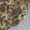 กระดาษแนปกิ้น กระดาษเดคูพาจ แผ่นกลม ลาย Flower Graphic SDR-006370