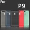 (025-1153)เคสมือถือ Case Huawei P9 เคสนิ่ม tpu กันกระแทกแฟชั่นพื้นผิวลายโลหะ