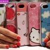 (440-097)เคสมือถือไอโฟน case iphone 5/5s/SE เคสนิ่ม+ขอบพลาสติกอ่อน+เชือก ลายการ์ตูนน่ารักๆ