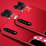 (388-118)เคสโทรศัพท์มือถือหัวเว่ย Case Huawei P20 เคสนิ่มการ์ตูนหัวเกาะลายมิกกี้เม้าส์กระต่าย