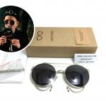 แว่นกันแดดวินเทจ Sisyphus Eyewear Clip-on รุ่น S861 <เงิน>