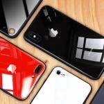(606-019)เคสมือถือไอโฟน Case iPhone7 Plus/iPhone8 Plus เคสแฟชั่นพื้นหลังแววกันกระแทก