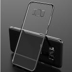 (025-1137)เคสมือถือ Case Samsung S8 เคสนิ่มใส tpu เรียบหรูขอบแวว