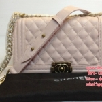 Chanel Classic Boy bag ขนาด 10 นิ้ว