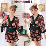 รหัส kimmono51 ชุดกิมโมโนเซ็กซี่