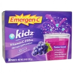Emergen-C, Kids, Grape, 30 Packets,