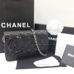 Chanel Wallet on Chain or WOC Top mirror image โซ่เงิน