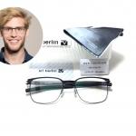 แว่นสายตา ic berlin model ichiro 1. black 52-24 <ดำ>