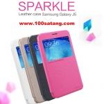 (385-012)เคสมือถือซัมซุง Case Samsung Galaxy J5 เคสพลาสติกฝาพับ PU Nillkin SPARKLE แบรนด์ดัง