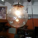 โคมไฟแก้วเป่างานเก่า รหัส24457cl