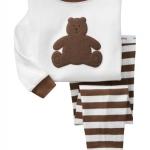Pre-ขุดนอน Baby Gap แขนยาว ลาย หมีสีน้ำตาล