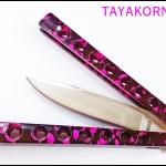 มีดควงฮาราจุกุนีโม Harajuku Nemo Balisong Knife