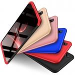 (025-1197)เคสโทรศัพท์มือถือวีโว่ Vivo V9 เคสพลาสติกคลุมเครื่อง 360 องศา
