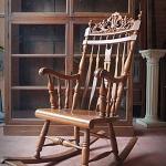 เก้าอี้โยก ไม้สัก รหัส6861cs
