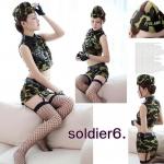 รหัส soldier6 ชุดคอสเพลย์ลายทหาร