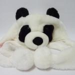 หมวกตุ๊กตารูปหมีแพนด้าสำหรับเด็กเล็ก