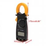 EM01-ดิจิตอล แคลมป์มิเตอร์ Digital Clamp meter DT3266L วัดกระแสไฟฟ้า วัดแรงดันไฟฟ้า วัดความต้านทาน วัดความต่อเนื่อง