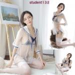 รหัส student132 ชุดคอสเพลย์นักเรียน