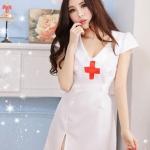 รหัส nurse24 ชุดพยาบาลสาวสุดเซ็กซี่