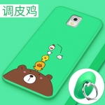 (พร้อมส่ง)เคสมือถือซัมซุงโน๊ต Case Note3 เคสนิ่มหมีบราวน์ลูกไก่