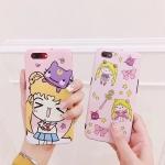 (700-019)เคสมือถือไอโฟน Case iPhone7 Plus/iPhone8 Plus เคสเซเลอร์มูน