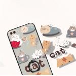 (025-1200)เคสโทรศัพท์มือถือหัวเว่ย Case Huawei Y9 2018 เคสนิ่มพื้นหลังพลาสติกลายการ์ตูนติดแหวนในตัว