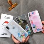 (436-421)เคสมือถือไอโฟน Case iPhone X เคส Glitter ลายแนวๆ น่ารักๆ