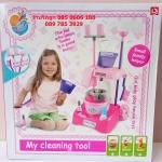 ชุดทำความสะอาดของเด็กเล่น