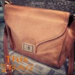 #0056 กระเป๋าหนังแท้ vintage