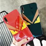(731-002)เคสโทรศัพท์มือถือหัวเว่ย Case Huawei P20 เคสนิ่มแฟชั่นบลูเรย์ดวงตา