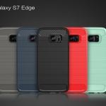 (025-1149)เคสมือถือซัมซุง Case Samsung S7 Edge เคสนิ่ม tpu กันกระแทกแฟชั่นพื้นผิวลายโลหะ