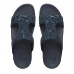 *** พร้อมส่ง FitFlop Rokkit Slide Sandals - Super Navy Us 7