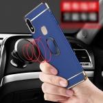 (025-1198)เคสโทรศัพท์มือถือวีโว่ Vivo V9 เคสพลาสติกคลุมเครื่องขอบชุบแวว
