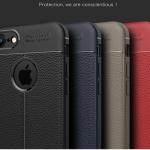 (025-1053)เคสมือถือไอโฟน Case iPhone7 Plus/iPhone8 Plus เคสนิ่มลายหนังแฟชั่นกันกระแทก