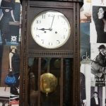 นาฬิกา2ลานเยอรมันตู้ไข่ปลา รหัส91557wc