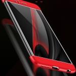 (025-1040)เคสมือถือ Case Huawei Honor 8 Lite เคสคลุมรอบป้องกันขอบด้านบนและด้านล่างสีสันสดใส