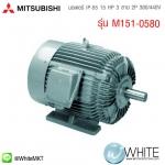 มอเตอร์ IP-55 15 HP 3 สาย 2P 380/440V รุ่น M151-0580 ยี่ห้อ MITSUBISHI