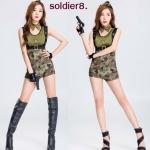 รหัส soldier8 ชุดคอสเพลย์ลายทหาร