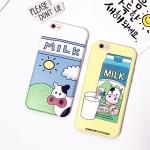 (151-389)เคสมือถือไอโฟน case iphone 6/6S เคสนิ่ิมลายวัวขวดนม