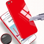 (606-016)เคสมือถือไอโฟน Case iPhone 6Plus/6S Plus เคสแฟชั่นพื้นหลังแววกันกระแทก