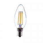หลอดไฟLED Filament Candle C35 4W ขั้วE14