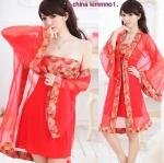 รหัส china kimmono เสื้อคลุมกิมโมโนแบบจีน