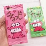 (151-361)เคสมือถือไอโฟน case iphone 6Plus/6S Plus เคสนิ่มซองขนม crayon dinosaur