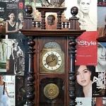 นาฬิกา gb 2ลาน หน้ากระจังตัดหลุยส์ รหัส24857wc2