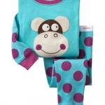 Pre-ขุดนอน Baby Gap แขนยาว ลาย ลิง จุด จุด