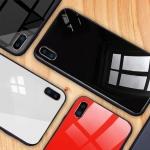 (606-017)เคสมือถือไอโฟน Case iPhone X เคสแฟชั่นพื้นหลังแววกันกระแทก